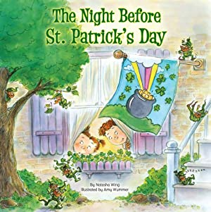 The Night Before St. Patrick's Day (Reading Railroad) by Natasha Wing