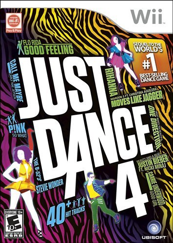 Just Dance 4 - Nintendo Wii