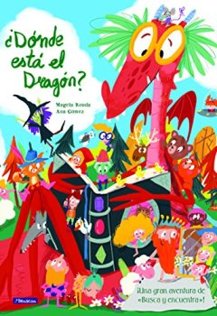 Portada del libro de¿Dónde está el dragón?: Una gran aventura de «busca y encuentra» (San Jorge)