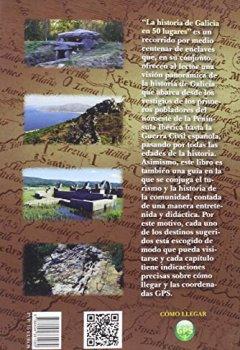 Portada del libro deLa Historia De Galicia En 50 Lugares (Viajar)