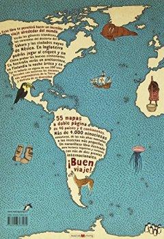 Portada del libro deAtlas del mundo: Un insólito viaje por las mil curiosidades y maravillas del mundo (Libros para los que aman los libros)