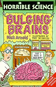 "Cover of ""Bulging Brains (Horrible Scienc..."