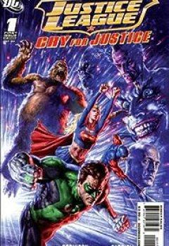 Livres Couvertures de JLA Cry For Justice Tome1