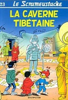 Livres Couvertures de Le Scrameustache, Tome 23 : La Caverne Tibétaine