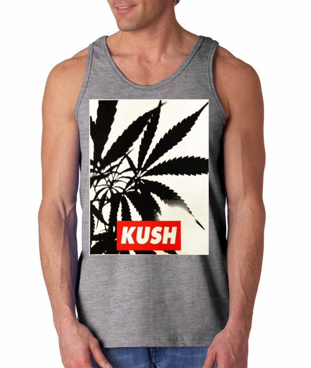 Fresh Tees® Brand- Kush Tank Top Cannabis Shirts
