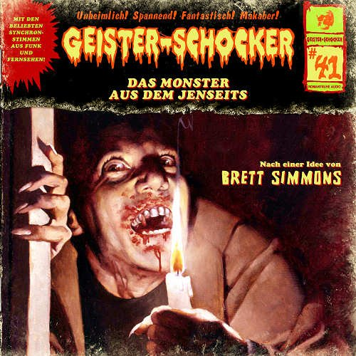 Geister-Schocker (41) Das Monster aus dem Jenseits (Romantruhe Audio)