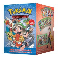 Pokemon Adventures Ruby & Sapphire Box Set: Includes Volumes 15-22 by Hidenori Kusaka| wearewordnerds.com