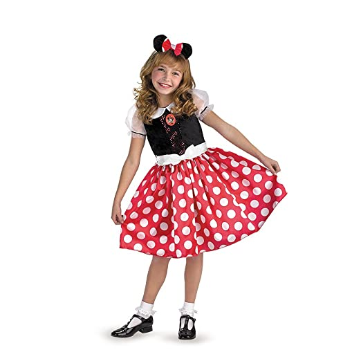 Minnie Mouse Classic - Size: Child (10.5-12.5 Plus)