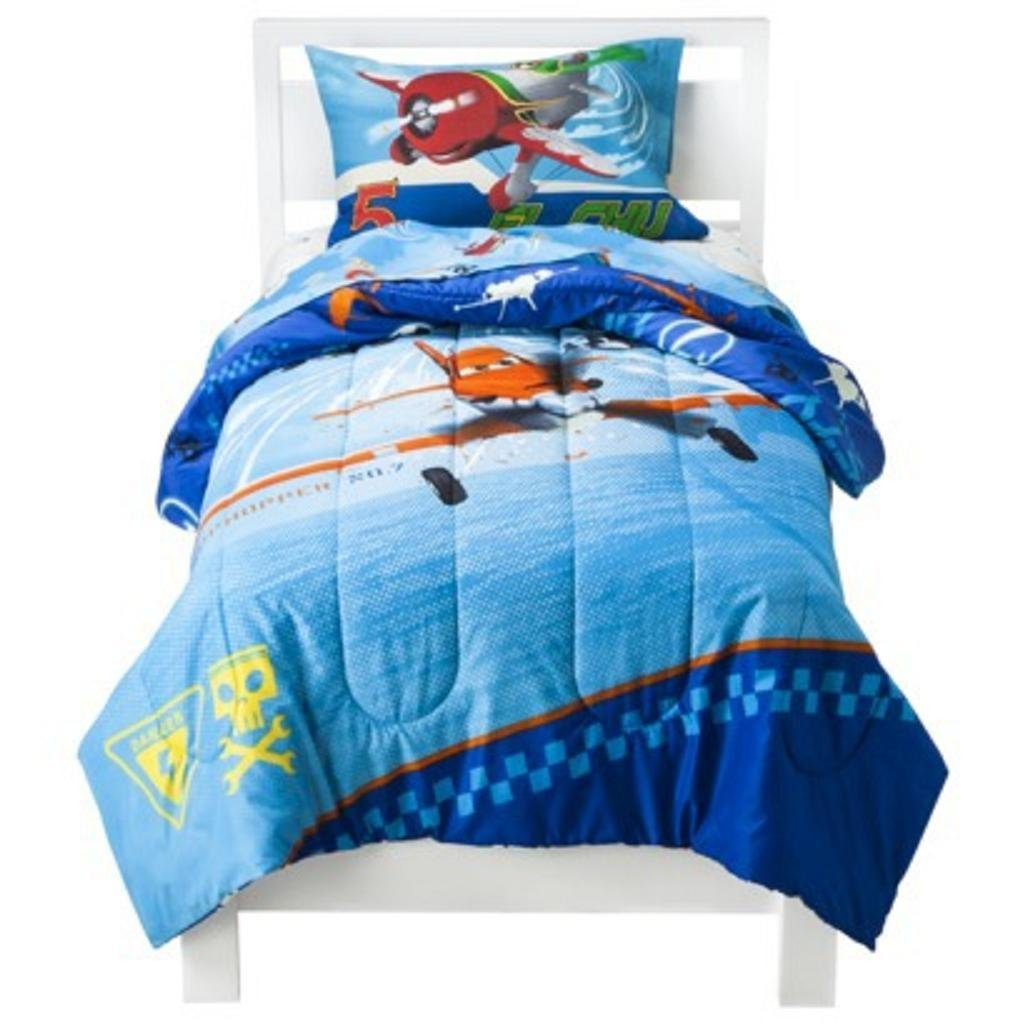 Disney Planes Twin Comforter and Sheet Set - 4 Piece
