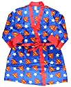 DC Comics Superman Silky Satin Robe (One Size)