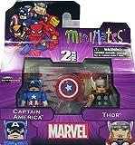 Marvel Minimates (マーベル ミニメイツ) キャプテン・アメリカ/ソー ミニフィギュア