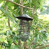 バードフィーダー:スプリングフィーダー屋根付き[お庭でバードウォッチング!]