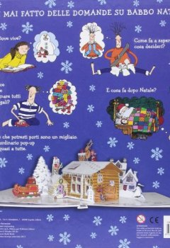 Copertina del libro di Il mondo segreto di Babbo Natale. Libro pop-up