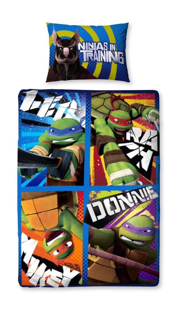 Teenage Mutant Ninja Turtles Dudes Reversible Single Duvet Cover And Pillowcase