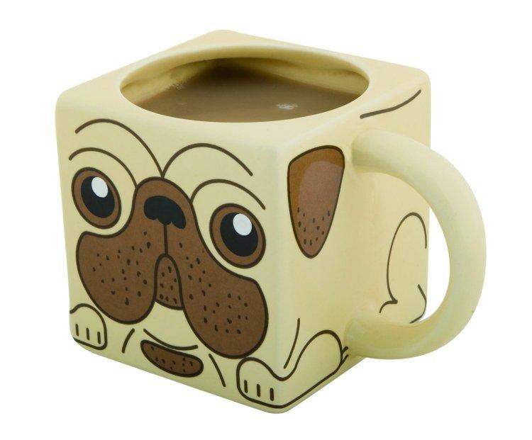 Square Pug Mug