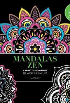 Livres Couvertures de Black Premium Mandalas Zen