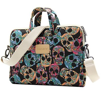 Dachee-Skull-Patten-Canvas-Laptop-Shoulder-Messenger-Bag-Case-Sleeve-for-11-Inch-12-Inch-13-Inch-Laptop-and-Macbook-Air-Pro-11-12-13