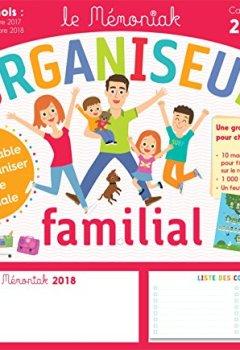 Livres Couvertures de Organiseur familial Mémoniak 2017-2018