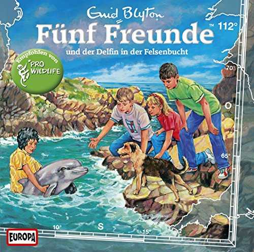 Fünf Freunde  (112) Fünf Freunde und der Delfin in der Felsenbuch - Europa 2015