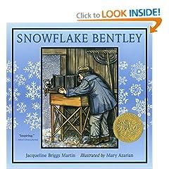nonfiction monday snowflake bentley by jacqueline briggs martin