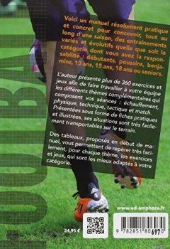 Livres Couvertures de Football : 360 exercices et jeux pour tous, Des débutants aux séniors