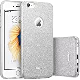 Custodia iPhone 6 Silicone,Case Cover per iPhone 6s in Silicone,ESR iPhone 6 Glitter Bling Case Cover iPhone 6 / 6S 4.7 inch (Maze Silver)