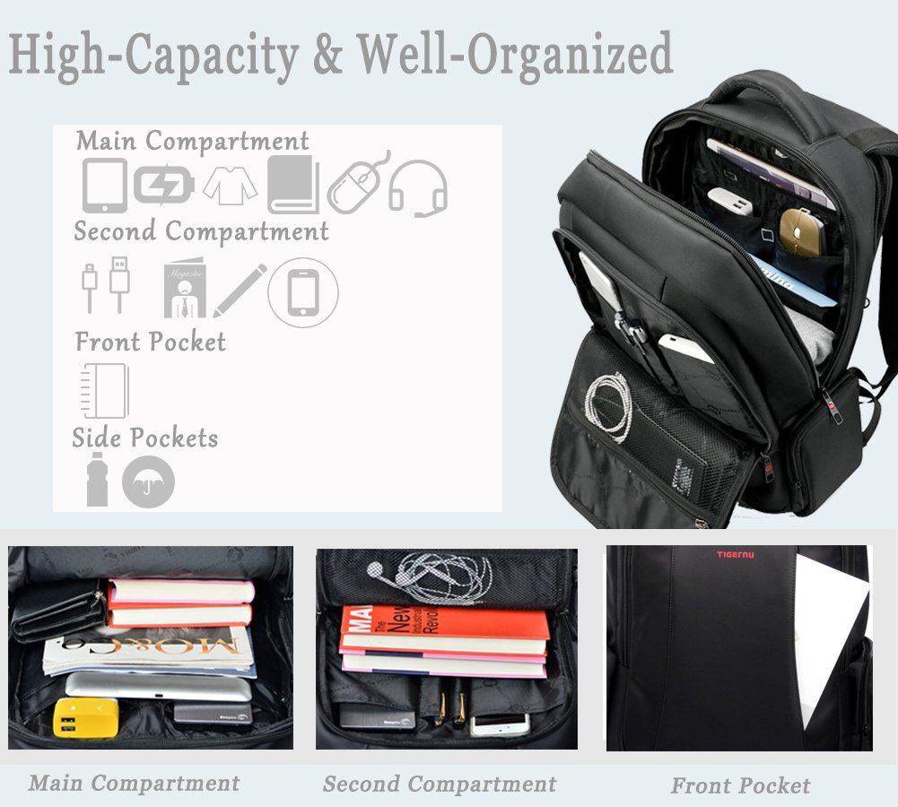best business backpack organize