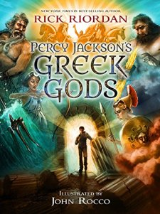 Percy Jackson's Greek Gods by Rick Riordan| wearewordnerds.com