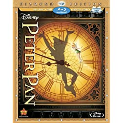 Peter Pan (Three-Disc Diamond Edition: Blu-ray/DVD + Digital Copy)