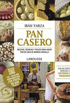 Portada del libro dePan casero (Larousse - Libros Ilustrados/ Prácticos - Gastronomía)