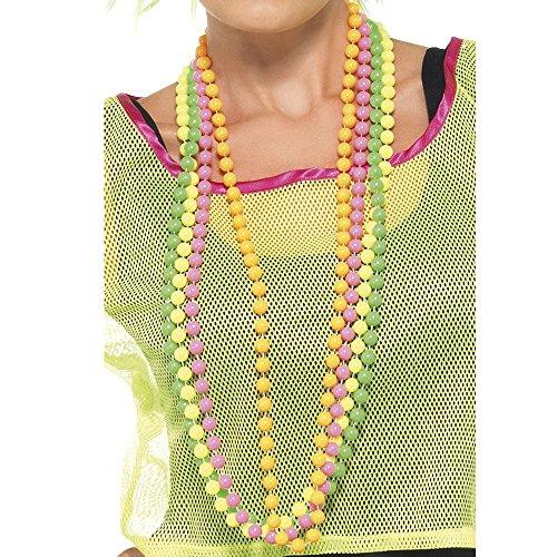 collier femme fluo