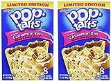 Kelloggs Pop-Tarts Cinnamon Roll, 8 ct, 14.1 oz (Pack of 2)