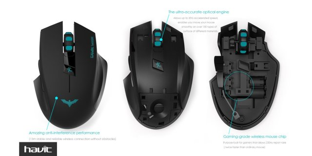 Gaming Mouse Wireless HAVIT HV-MS976GT