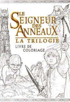 Livres Couvertures de Le Seigneur des Anneaux la trilogie : Livre de coloriage