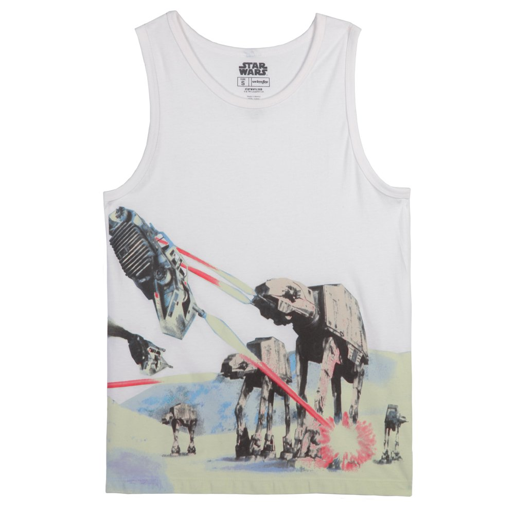 Star Wars Battle of Hoth AT-AT Adult Tank Top