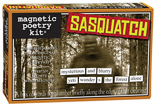 Magnetic Poetry - Sasquatch Kit - Words for Refrigerator - Write Poems and Letters on the Fridge