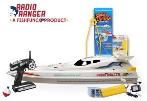 remote control boat for fishing