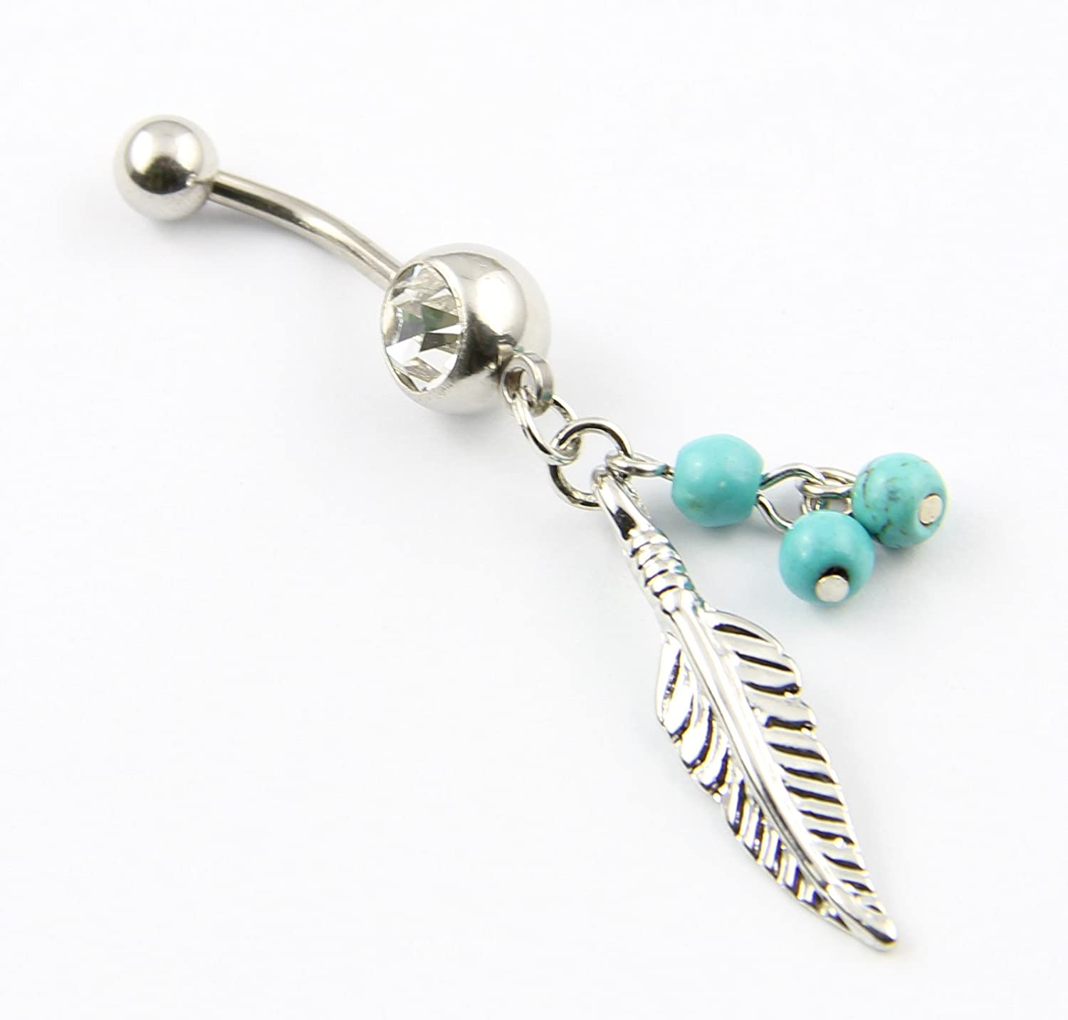 Long Bar Belly Button Rings
