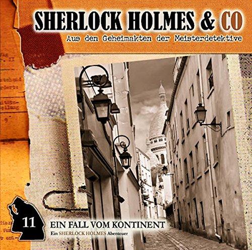 Sherlock Holmes & co. (11) Ein Fall vom Kontinent (Romantruhe Audio)