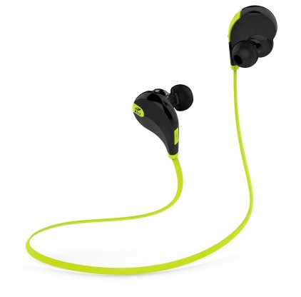 Inexpensive Bluetooth sports earbuds sound really good and offer everything fitness enthusiast's need