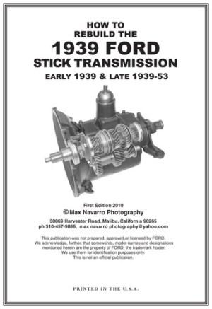 1939 Ford 3 speed transmission