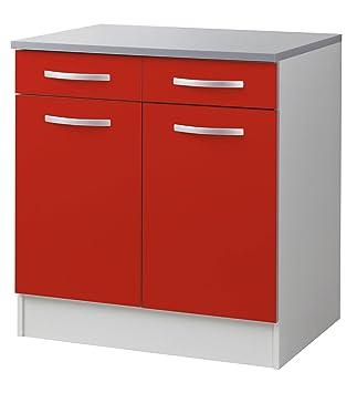 o django meuble de cuisine bas 80cm facade rouge mat rouge alinea 80 prices frsviacz 85