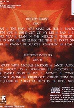 Portada del libro deMichael Jackson: History- Past, Present and Future, Book I