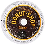 Coffee People Donut Shop Decaf Medium Roast Extra bold,  22-Count K-Cup Portion Pack for Keurig Brewers