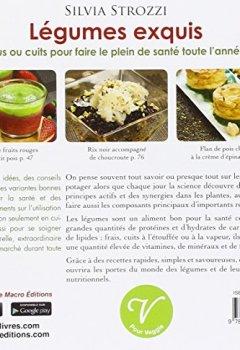 Livres Couvertures de Légumes exquis : Crus ou cuits pour faire le plein de santé toute l'année