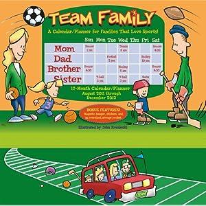 Team Family 2012 Wall Planner (calendar)