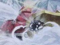 遊戯王ゼアル 【除雪機関車ハッスル・ラッセル】 ZDC1-JP001 《遊戯王ゼアル激突!デュエルカーニバル!》封入カード