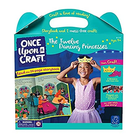 Educational Insights Once Upon a Craft - The Twelve Dancing Princesses Educational Craft