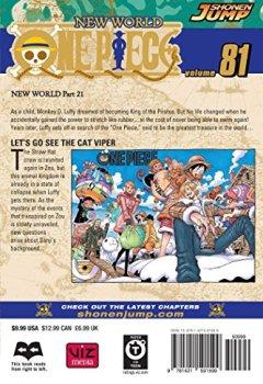 Livres Couvertures de One Piece, Vol. 81