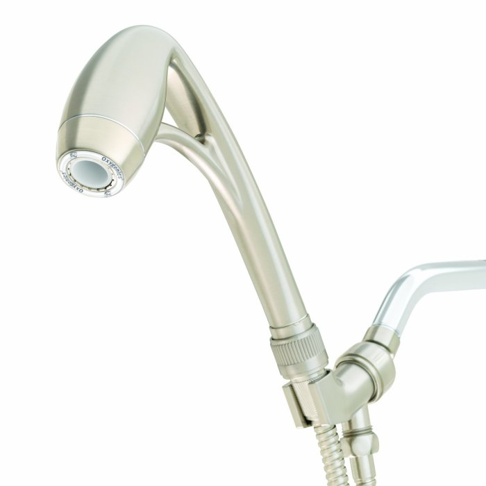 Amazon.com : Oxygenic Body Spa Shower Head Want to converse water while still having an amazing shower? This is our shower head of choice. Great luxurious pressure while using little water.
